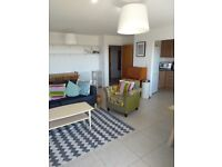 Beautiful fully furnished very spacious 1 bed ground floor south facing Marina apartment NO Fees
