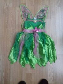 Tinkerbell Disney Dress with wings.