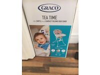 BRAND NEW BOXED BABY HIGH CHAIR AMAZING QUALITY QUICK SALE!!!!!!