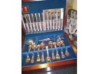Beautiful Canteen of Kings Cutlery by Arthur Price Of England