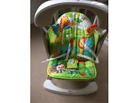 Fisher Price Rainforest Take Along Swing and Seat Set