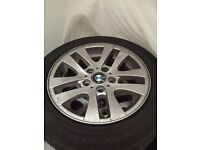 BMW alloy wheels ( includes run flats)