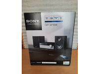 SONY CMT-SBT100B Sound HIFI System CD Player DAB/FM Digital Radio USB Bluetooth Wireless