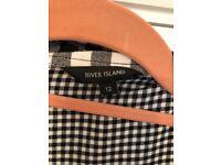 River Island oversized shirt top