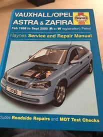 Haynes manual Astra mk4