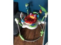 Fisher price rain forest jumperoo, fab condition