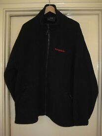 Navy Blue Fleece - Futurecoat Logo