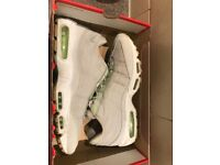 Nike air max 95 'glow in the dark' size 11