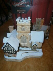 DAVID WINTER 1989 XMAS COTTAGE A CHRISTMAS CAROL MINT COND