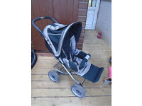 Emmaljunga Front Facing Pram