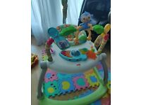 Fisher-Price CHN38 Rainforest Spacesaver Jumperoo