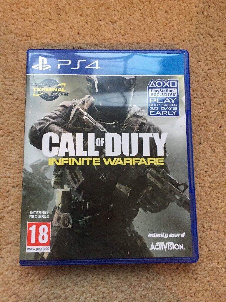 PS4 Game - Call Of Duty Infinite Warfare - Like New!