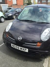Nissan Micra 1.2 petrol 2010 New MOT mileage 50.000 Only 1399£ !!!!