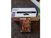 Xbox 360 kinect sensor and Kenect adventure game