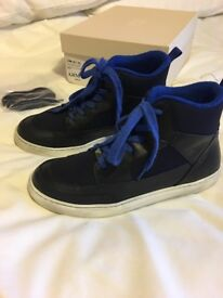 Boys Armani Junior hi Tops