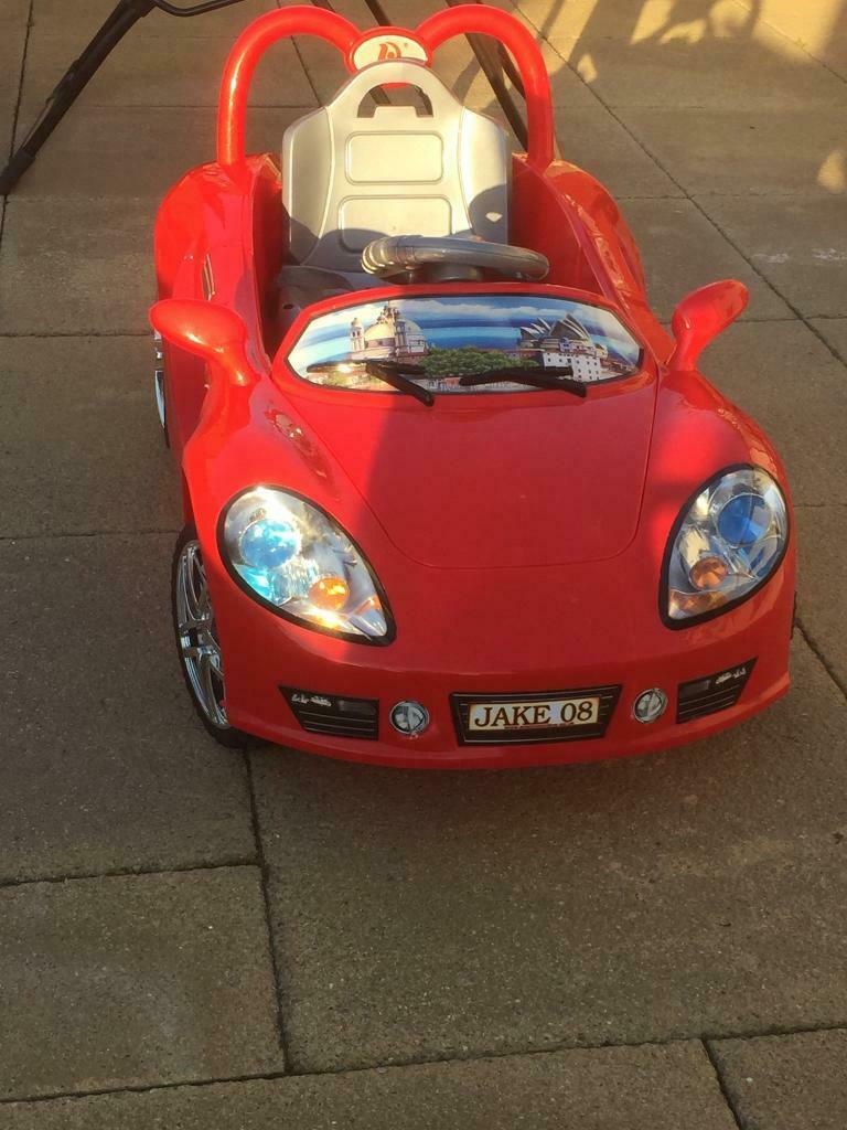 Electric ride in child's toy car | in Plymouth, Devon | Gumtree
