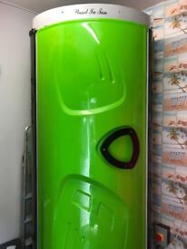 Stand in tan sunbed tanning cubicle BRAND NEW TUBES