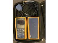 Fluke DTX 1800 cable tester fibre fiber