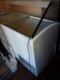 Glass door freezer for sale