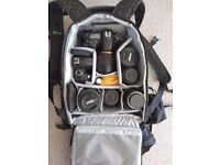 Lowepro Protactic 350AW Backpack - Mint Condition