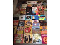 Job lot of 255 vinyl Lp's and 12 inches