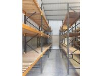 16 Bays of LINK 51 Heavy Duty Racking Pallet Industrial Warehouse Longspan Shelving