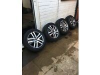 "16"" Volkswagen alloy wheels"