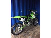 Kx 250 2002 immaculate dry stored for 10 years not cr yz rm sx