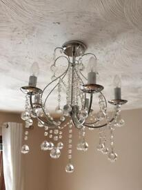 Crystal chandelier (not furniture sofa bed coffee table lights)