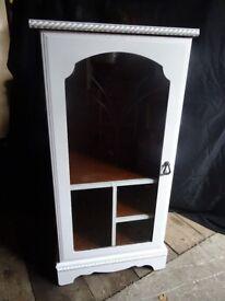 White Stereo Cupboard/Unit/Cabinet/Storage