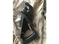 Vintage Stanley Duplex Rabbet Plane No.78. Owned by retired Carpenter. Good Condition