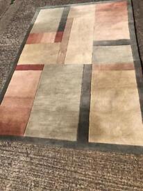 Large Morden design hand made rug