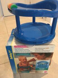 Baby bundle - bumbo seat, bath seat, 2 baby rugs