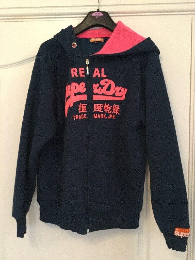 Super dry hooded Jacket