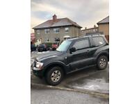 Spares or repairs - Mitsubishi shogun 3.2 black auto