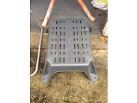 Caravan/Motorhome Large Plastic Single Step