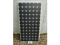 160w solar panel and MPPT charge control