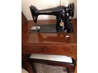 Antique Electric Singer sewing machine K201