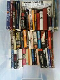 Various History Books Relating to WW1, WW2, Vietnam etc