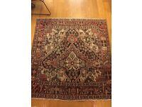 170 x 160 cm antique persian rug