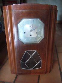 French Art Deco wall clock - Carillon Romanet