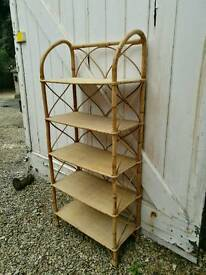Unusual wicker shelves good quality