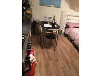 New decorated fully equipped studio flat