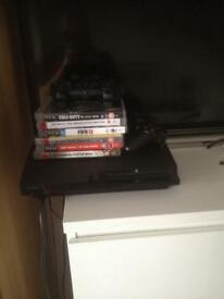 PS3 and 6 games 2 controllers VGC