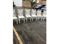 Set of six pretty chairs
