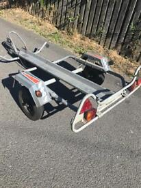 Erde single bike trailer