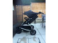 Mountain buggy duet double buggy including rain cover