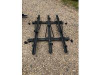 lockable roof rails (2) plus three bike racks for Peugeot 406 estate