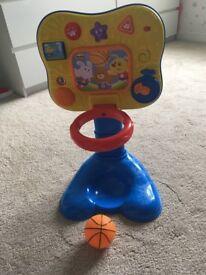 Baby basketball net
