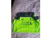 Mens Liverpool FC shirt size XL